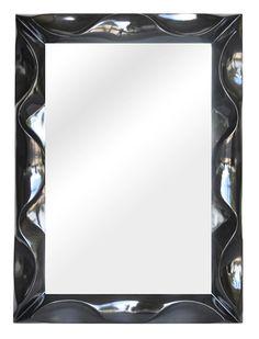 Waltham 44 X 32 Contoured-Frame Wall Mirror - Zeckos