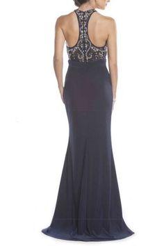 Navy Evening Dress | Shop Women's Dresses.