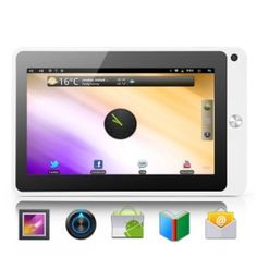 # List Price:  US$370.00  Price:        * US$        € £ CA$ AU$ HK$ CHF ¥    141.74  Introducing the Pearl Tablet, the latest and awesomest tablet around that comes with Android 2.3, WiFi, a 7 inch touch screen, HDMI output, 8GB internal memory, 3G extend support and powerful hardware to make it all happen. This tablet pc offers you the best way to experience the web, email, media, Ebooks, games, and everything else!    Pearl Tablet design that offers you a rich.