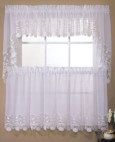 Seville Curtains Are A Sheer U0026 Macramé Combination Style. Sophisitcated,  Old World Charm Is