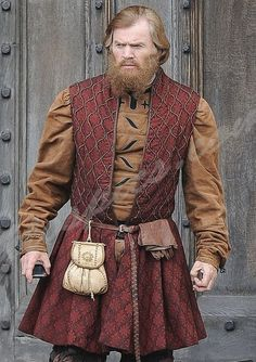 "Richard Dillane in the BBC series ""Wolf Hall""."