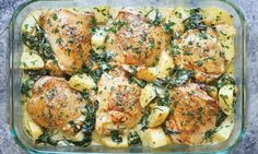 chicken casseroles featured image
