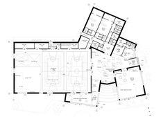 The New Urban School, Mixed Use Sports Complex Proposal / EFFEKT + Rubow - Ground floor plan