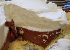 Chocolate Pudding Pie | Plain Chicken