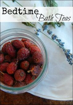 Bedtime Bath Teas l Herbal combinations you can grow in any zone for wholesome sleepy time rituals l Farm Sprouts Hobby Farms Online l Tessa Zundel