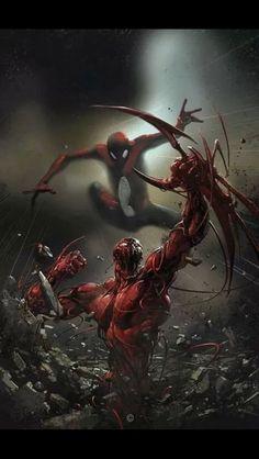 Spiderman vs Carnage