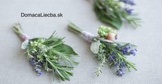 of the Prettiest Spring Boutonnieres Lavender & Herb Boutonniere. I like the idea of using herbs like rosemary and bay, or olive tree branches. I like the idea of using herbs like rosemary and bay, or olive tree branches. Herb Wedding, Chic Wedding, Floral Wedding, Wedding Blog, Wedding Flowers, Wedding Ideas, Summer Wedding, Wedding Lavender, French Wedding