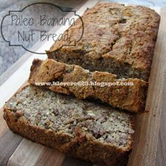 Learning to Love Me: Paleo Banana Nut Bread