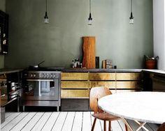 Gold-ware Kitchen
