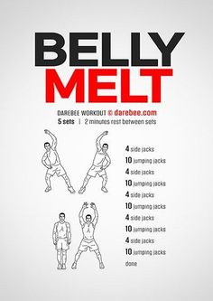 Belly Melt Workout | Posted By: NewHowToLoseBellyFat.com