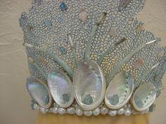Sea Fan Coral Shell Beach Wedding Mermaid Ariel Tiara ...