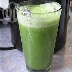 Rezeptbild: Gesunder grüner Gemüsesaft