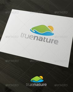 True Nature - Logo Design Template Vector #logotype Download it here: http://graphicriver.net/item/true-nature/1945124?s_rank=1063?ref=nexion