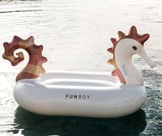 Metallic Seahorse Pool Float
