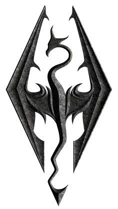 skyrim dragon symbol - Google Search