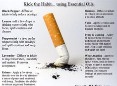 Stop smoking with Young Living Essential Oils. - To order www.youngliving.org Distributor #1933634 or message me.
