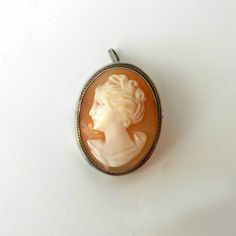 Your place to buy and sell all things handmade Vintage Items, Vintage Jewelry, Cameo Pendant, Brooch Pin, Antique Silver, Gifts For Her, Shells, Pure Products, Jewels