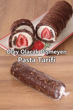 Cake Roll Recipes, Dessert Recipes, Turkish Recipes, Ethnic Recipes, Food To Make, Food And Drink, Cooking Recipes, Sweets, Sausage