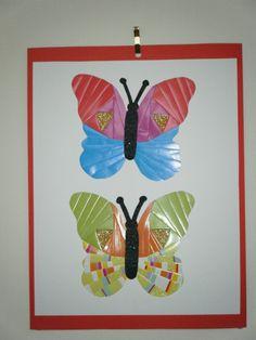 paper iris butterfies