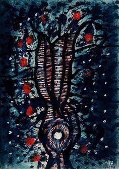 Yayoi Kusama  Tree, 1952