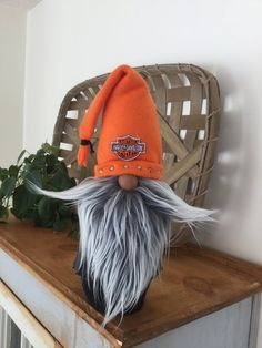 Outstanding Harley Davidson images are available on our web pages. Take a look and you will not be sorry you did. Biker Gnomes, Yarn Animals, Black Leather Vest, Gnome Hat, Gnome Ornaments, Scandinavian Gnomes, Christmas Gnome, Xmas, Animal Projects