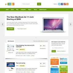 Deals – WordPress Theme for Coupons Site to Earn by Affiliate Program Commission