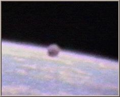 UFO Photo : Orbit around Earth, NASA Space Shuttle Mission STS-37 - April, 1991 The US authority's, in fact authority's round the world deny UFO's are real, they say there is no evidence other life exists in the universe, then NASA produce images like this!, so is this a NASA forgery or is it real, taking into consideration the 5 sightings I have had I believe it to be real!,  but why do the US authority's insist on contradicting each other!  The images say it all!!!