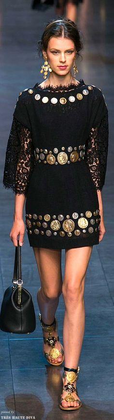 Dolce  Gabbana Spring 2014 RTW #byzantium