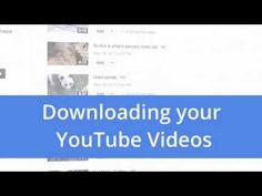 Download your YouTube videos - YouTube Tips & Tricks > Laden Sie Ihre Videos von YouTube