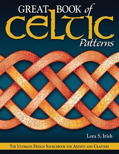 A great book of Celtic designs! With history and some how-to draw knots info.