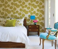 Master Headboard Wall Feature - not necessarily this pattern.