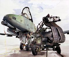 U.S. Air Force Thunderbolt II. http://www.pinterest.com/jr88rules/war-birds/ #Warbirds