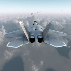 Would not want to come face to face with this raptor. Choose your side wisely. Military Jets, Military Aircraft, Air Fighter, Fighter Jets, F22 Raptor, Aircraft Design, Jet Plane, Aviation Art, Automobile