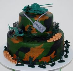32+ Excellent Picture of Army Birthday Cakes . Army Birthday Cakes Boy Army Birthday Cake Birthday Cake Game Cooking Games  #BirthdayCakeDesigns Army Birthday Cakes, Army Birthday Parties, Army's Birthday, Birthday Ideas, Camouflage Birthday Party, Camouflage Cake, Army Cake, Military Cake, Little Boy Cakes