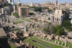 -The Roman Forum was the central area around which Ancient Rome was formed -  I had to go there twice and step - into the past
