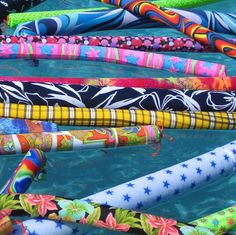 fun and fashionable pool noodles www.nickinoodles.com
