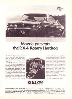 Japan Motors, Car Advertising, Japanese Cars, Old Cars, Mazda, Hot Wheels, Vintage Cars, Motor Company, Rotary