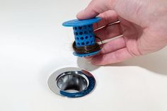 Cleaning clogged drains, thankfully, no longer has to be one of them--thanks to the TubShroom. - TubShroom - A Revolution in Drain Protection, Off Today Things To Buy, Good Things, Bathtub Drain, Overhead Lighting, Food Storage Containers, Kitchen Aid Mixer, Cool Gadgets, Getting Old, Home Accessories