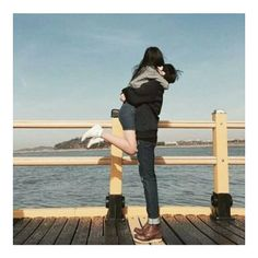 ulzzang couple on Tumblr ❤ liked on Polyvore featuring couples and people