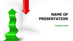 Green Red Arrow PowerPoint template and theme. This beautiful and creative PowerPoint theme is about market and economic dynamics, development directions, information development, business progress, goal achievement, education, growing trend, way to develop, etc.   #arrow #business progress #dynamics #education #growing trend