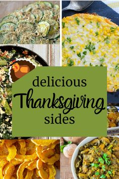When it comes to Thanksgiving dinner some things are a given for us – turkey, stuffing and mashed potatoes.  But the side dishes we serve can vary from year to year. Here is a collection of vegetable side dishes that would be perfect for the holiday!