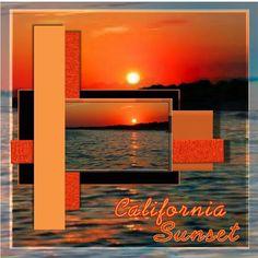 Scrapbook Layout - Sunrise/Sunset