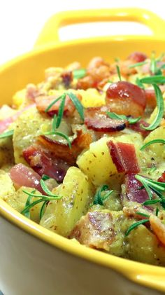Country Dijon Bacon Potato Salad