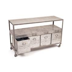 Industrial Storage Table | dotandbo.com