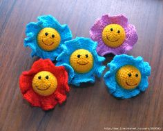 Amigurumi Flower Tutorial : 1000+ images about Crochet - Flowers on Pinterest ...