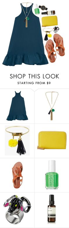 """santa baby"" by wasabia ❤ liked on Polyvore featuring Cynthia Rowley, sass & bide, Marc by Marc Jacobs, Essie, Monki and Aesop"