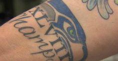 A Clairvoyant Seahawks Fan Got His Super Bowl Tattoo Months Ago