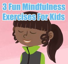 Exercise for kids - A Mindful Minute 3 Fun Mindfulness Exercises For Kids (Illustrated) – Exercise for kids Teaching Mindfulness, Mindfulness Exercises, Mindfulness For Kids, Mindfulness Activities, Mindfulness Meditation, Mindfullness Activities For Kids, Mindfulness Therapy, Mindfulness Training, Mindfulness Techniques