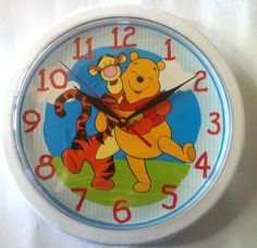 Winnie The Pooh and Tigger - Clock