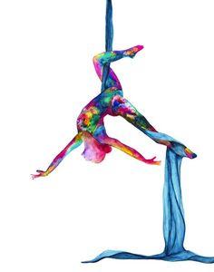 The silky lady – Aerial silks – Silk yoga Print watercolor painting – Aerialist gift - YOGA IDEAS Aerial Acrobatics, Aerial Dance, Aerial Hoop, Aerial Arts, Arial Silks, Silk Yoga, Yoga Cartoon, Yoga Painting, Silk Art